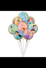 Amscan folieballonpakket Disney princess 8-delig