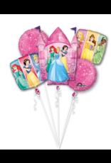 Amscan folieballonpakket disney princess 5-delig
