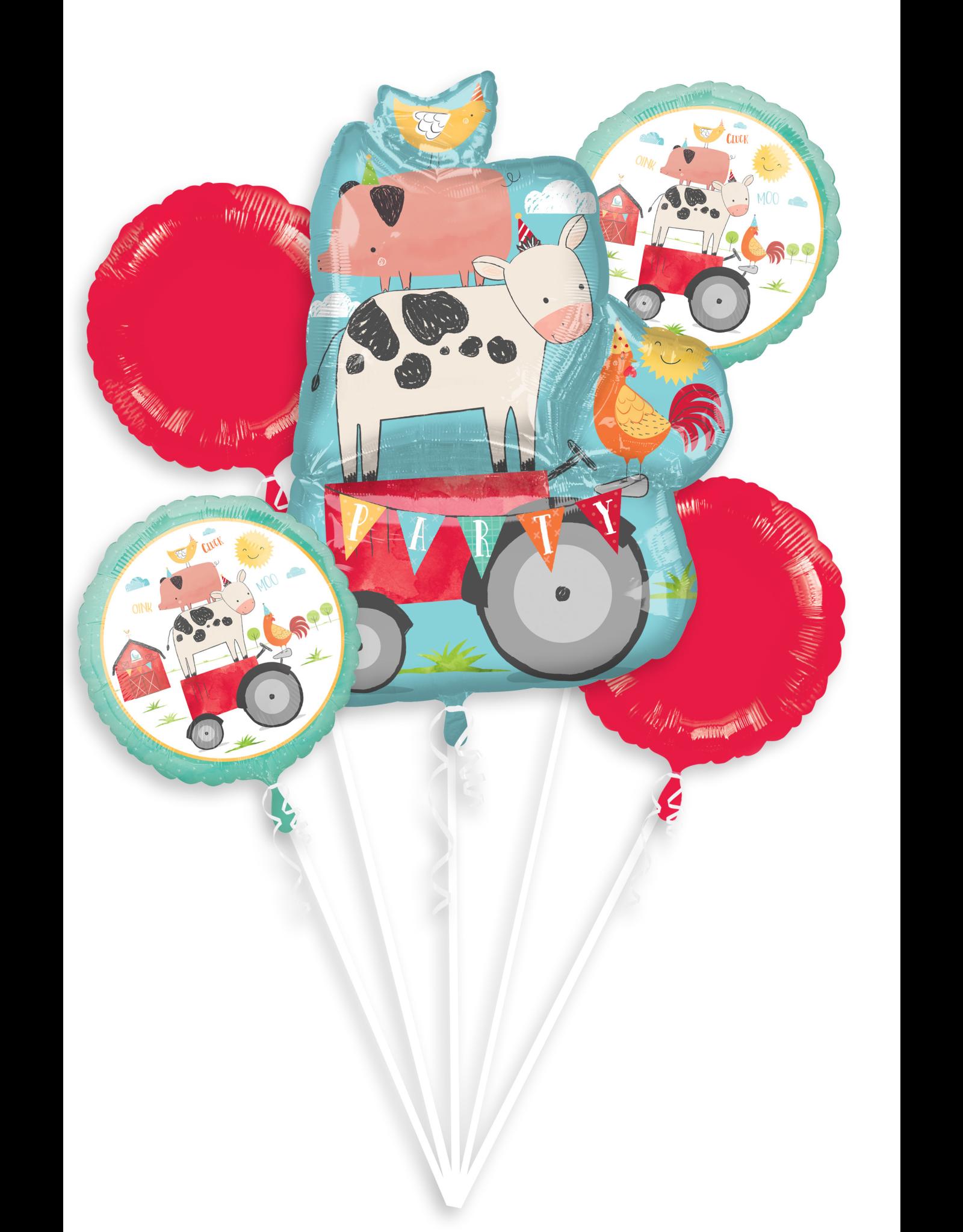 Amscan folieballonpakket boerderij 5-delig