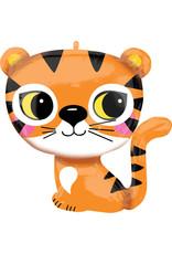 Amscan folieballon supershape tijger