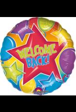 Amscan folieballon welcome back 43 cm
