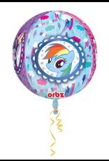 Amscan folieballon orbz My little pony 38 x 40 cm