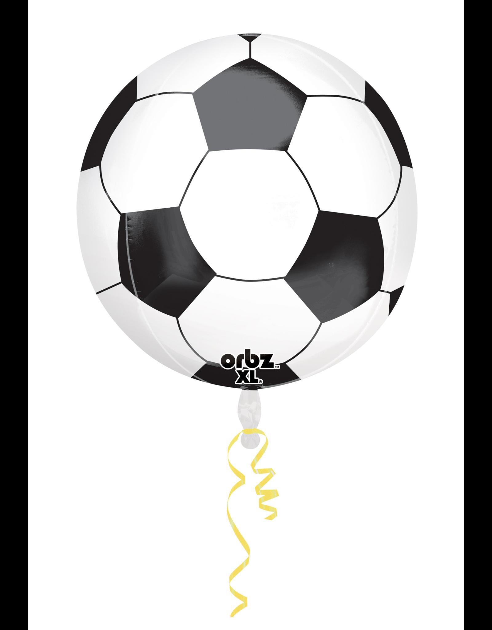 Amscan folieballon orbz voetbal 38 x 40 cm