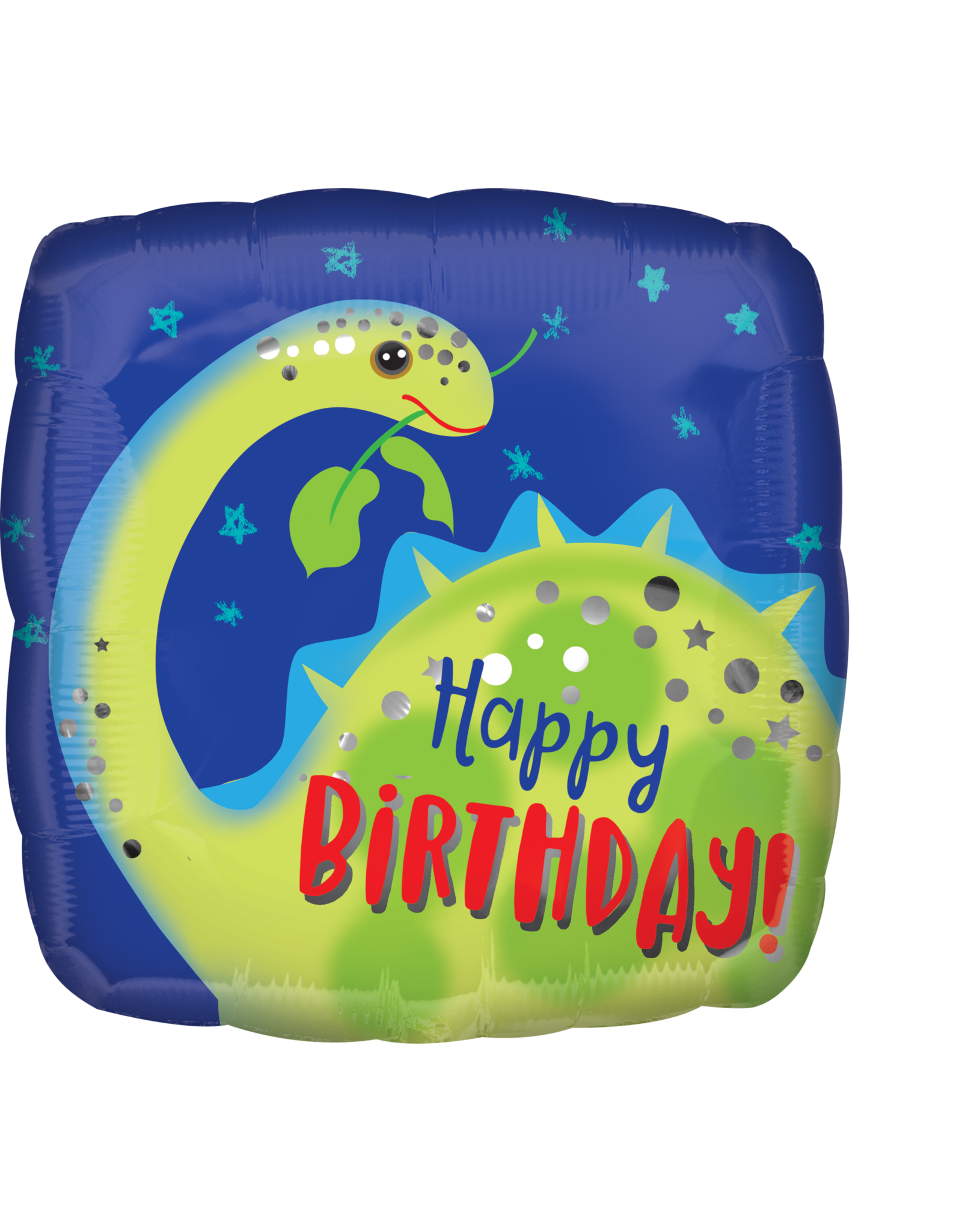 Amscan folieballon dino happy birthday 43 cm