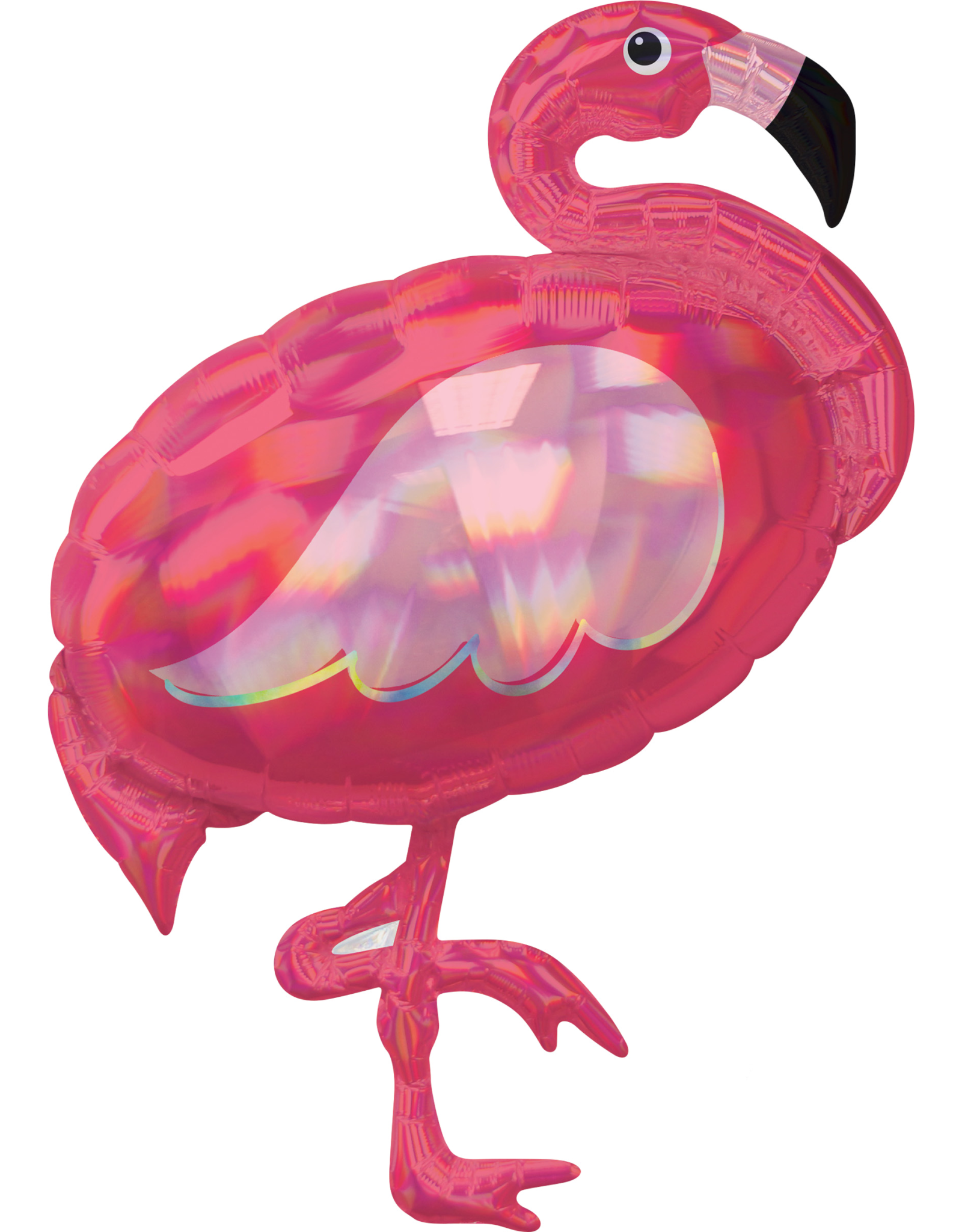 Amscan folieballon supershape flamingo 71 x 83 cm