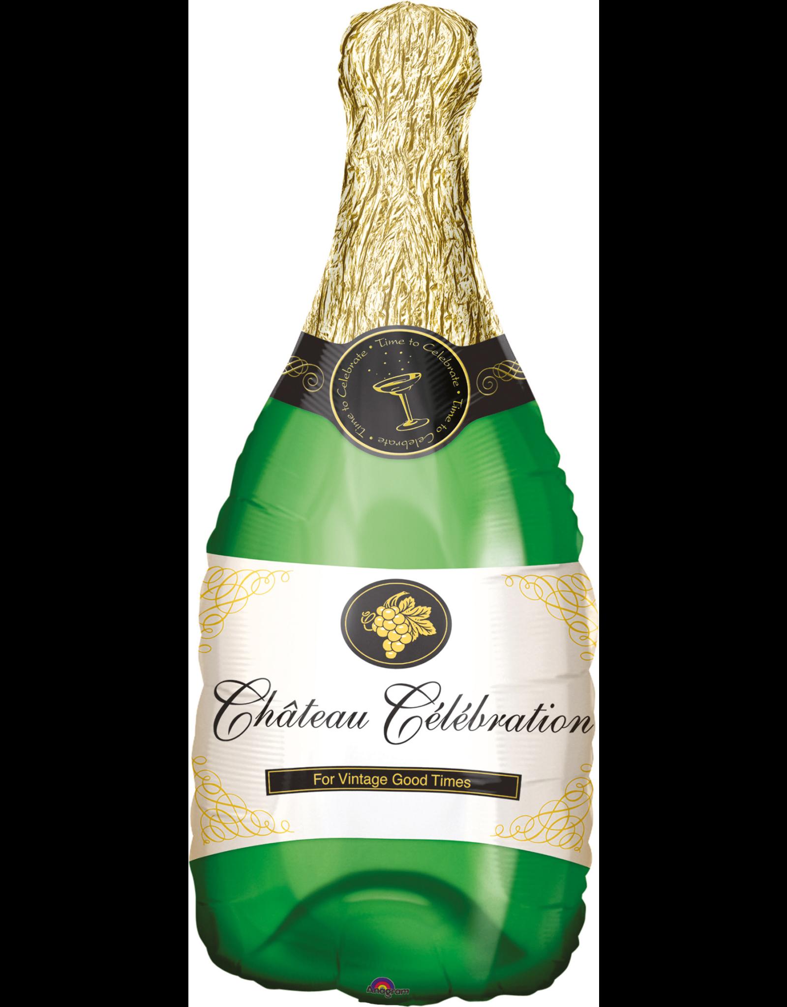 Amscan folieballon champagne bottle 91 x 35 cm