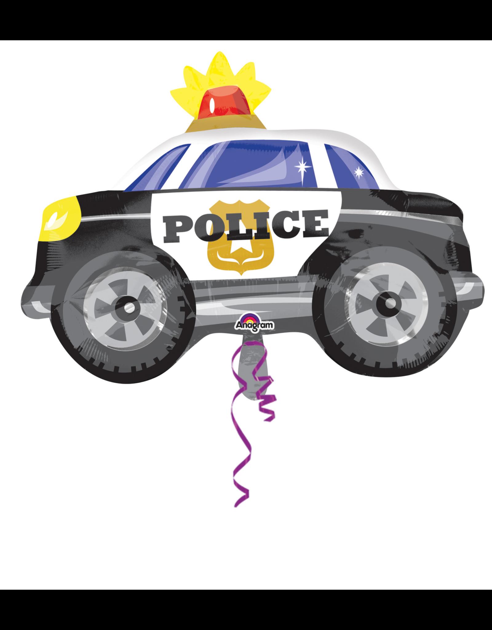 Amscan folieballon police car 45 x 60 cm