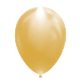 Led ballonnen goud 5 stuks