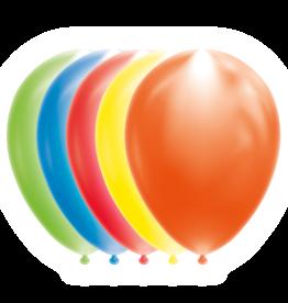 Led ballonnen multicolour 5 stuks
