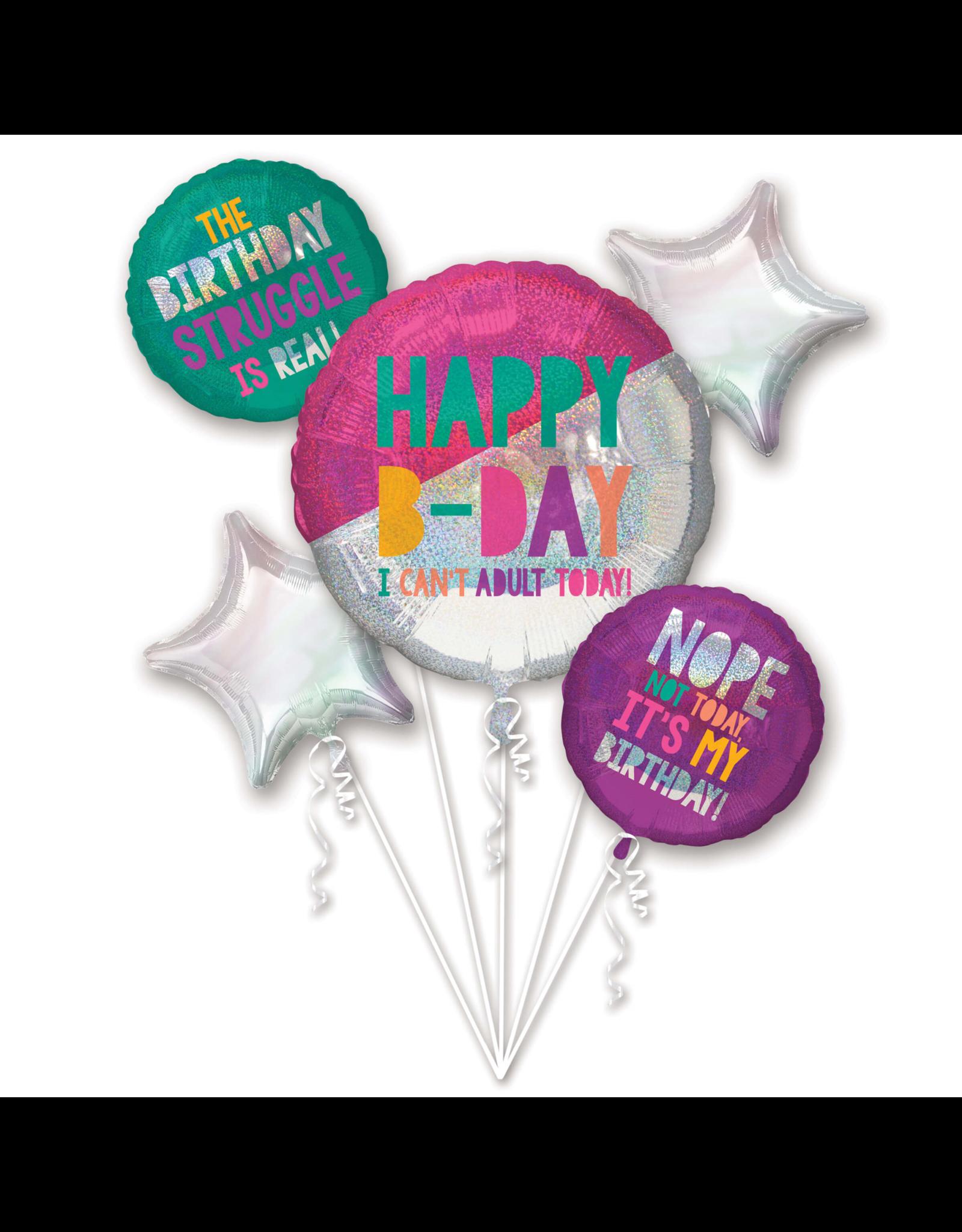 Amscan folieballonpakket young & fabulous