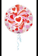 Amscan insiders folieballon love 60 cm