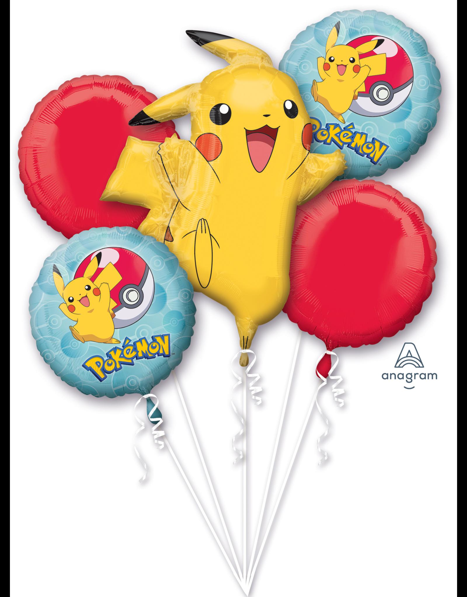 Amscan folieballonpakket Pokemon 5-delig