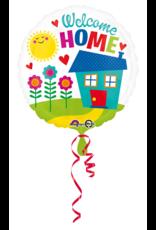 Amscan folieballon welcome home hearts 43 cm