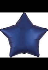 Amscan folieballon navy blue ster 48 cm
