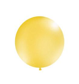 Ballon 1 meter rond metallic goud