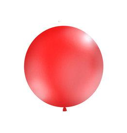Ballon 1 meter rond rood
