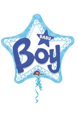 Amscan folieballon 3D baby boy 81cm