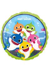 Amscan folieballon baby shark 43 cm