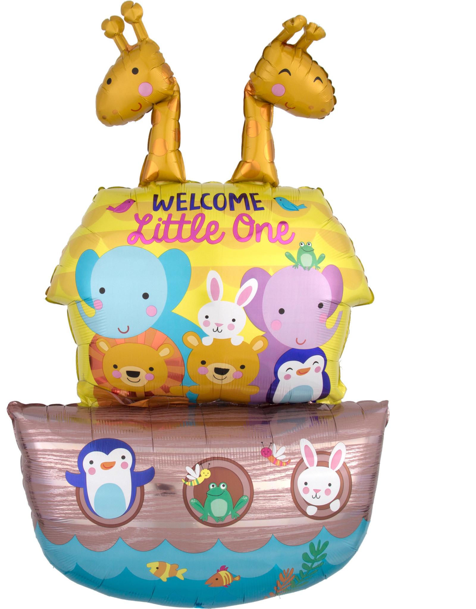 Amscan folieballon baby shower Noah's Ark 68 x 109 cm