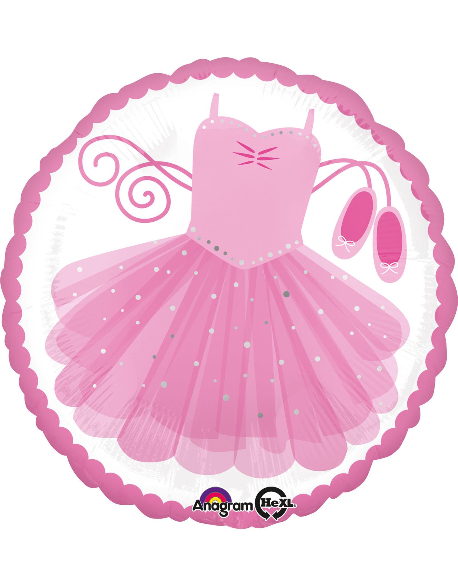 Amscan folieballon ballerina 43 cm