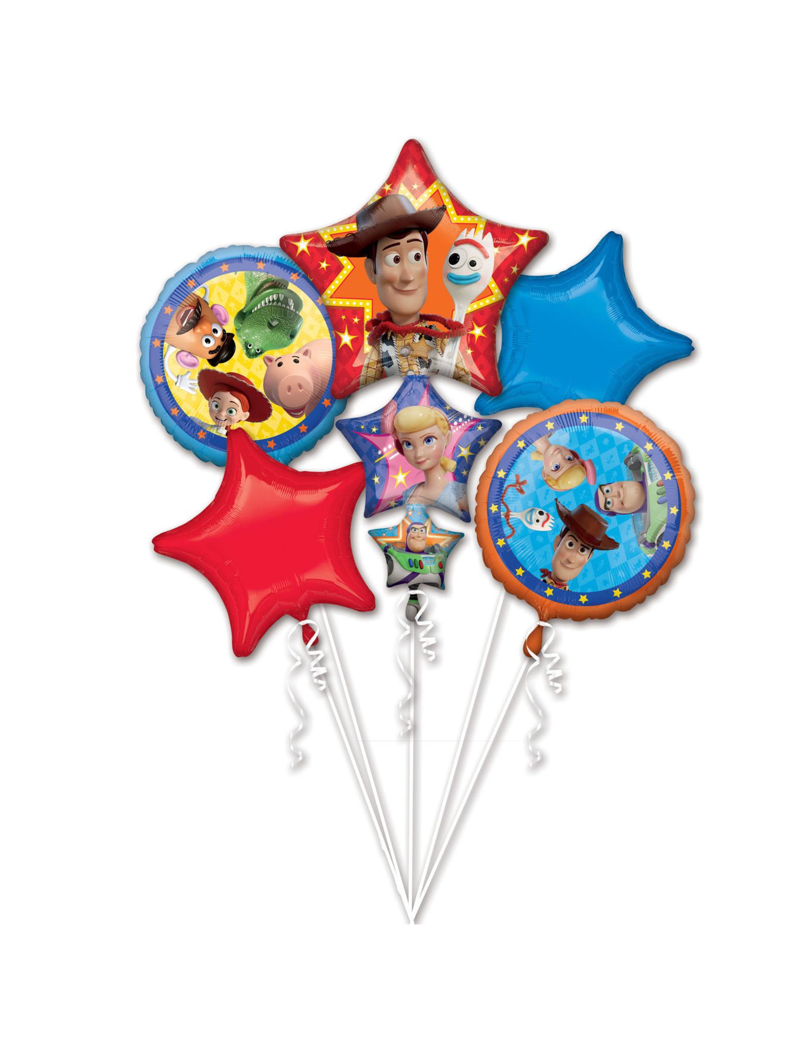 Amscan folieballonpakket toy story 5-delig