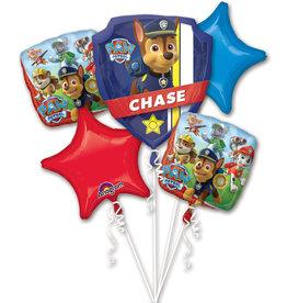 Amscan folieballonpakket Paw patrol 5-delig