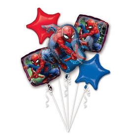 Amscan folieballonpakket Spiderman 5-delig