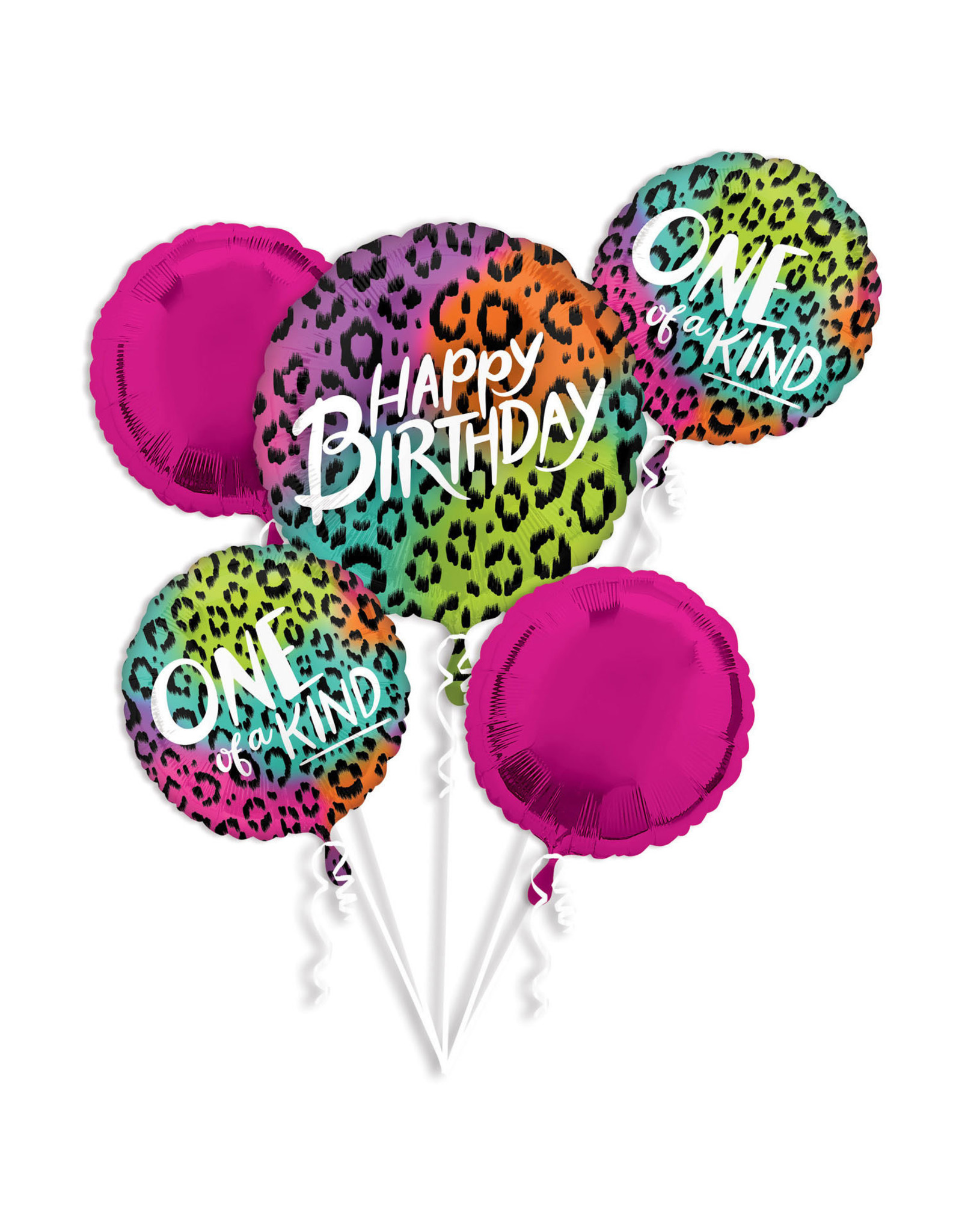 Amscan folieballonpakket wild child 5-delig