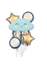 Amscan folieballonpakket Twinkle little star 5-delig