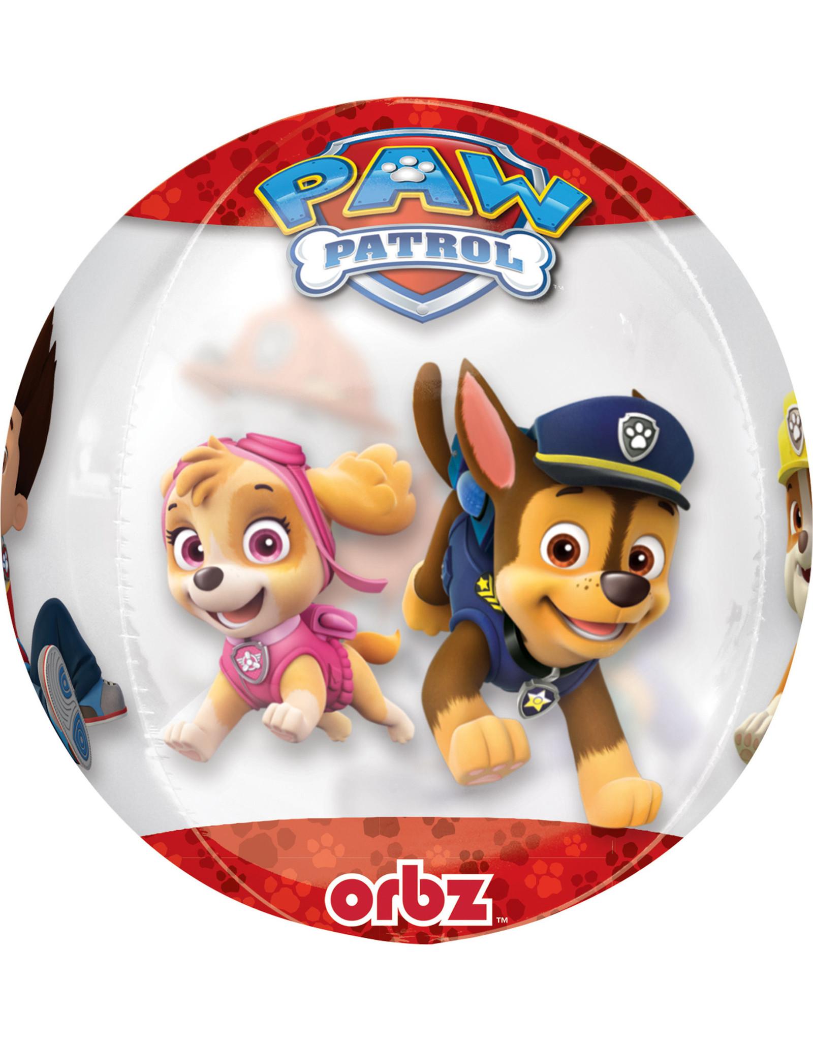 Amscan folieballon orbz paw patrol 38 x 40 cm