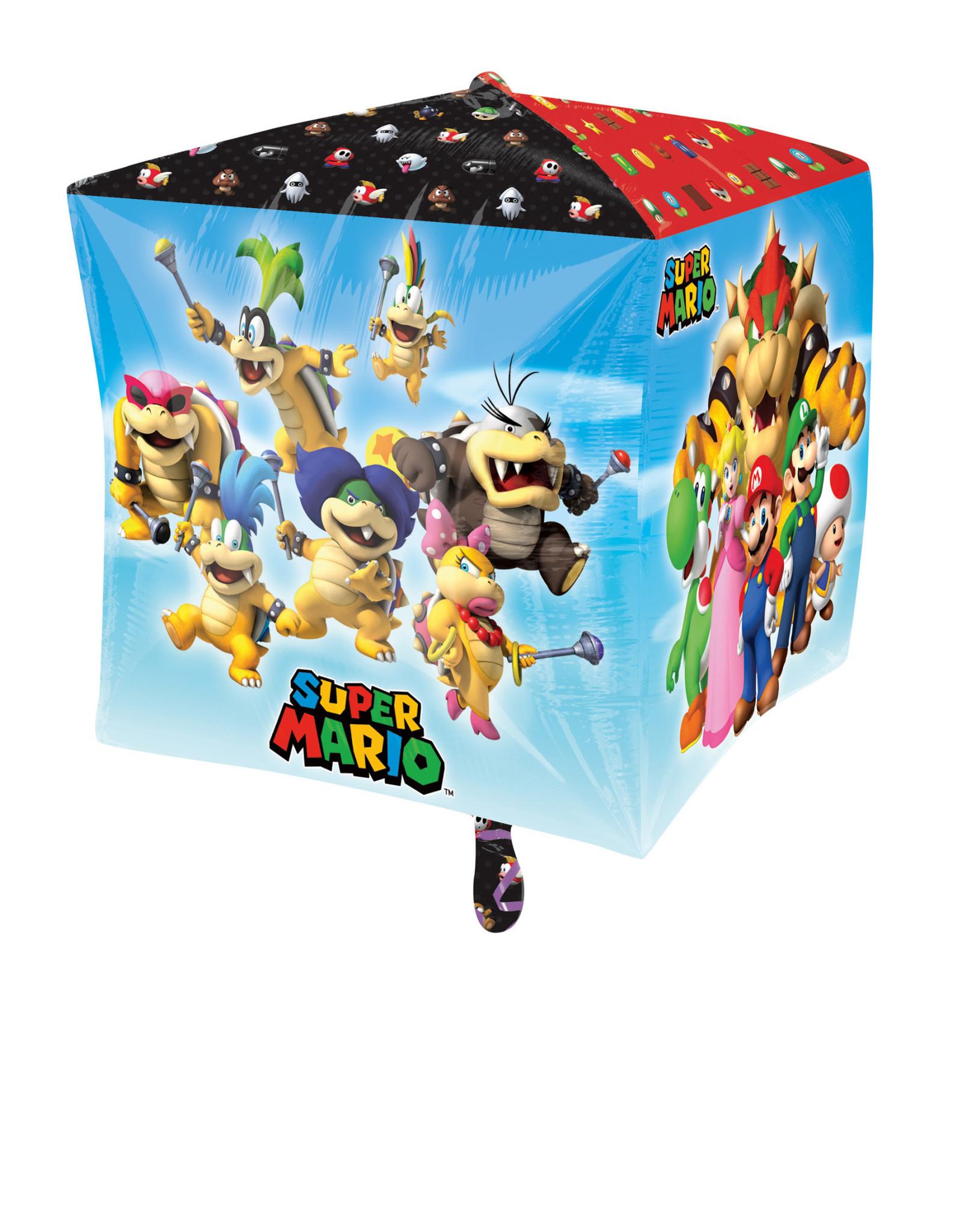 Amscan folieballon Cubez Super Mario 38 x 38 cm