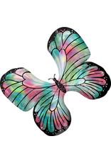 Amscan folieballon supershape vlinder glitter 76 x 66 cm