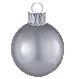 Amscan folieballon orbz kerstbal zilver