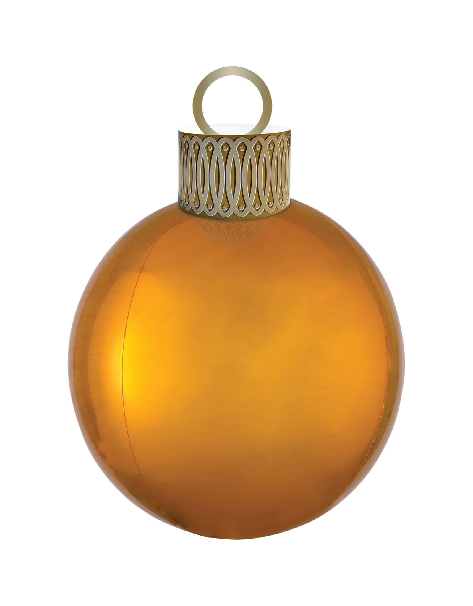 Amscan folieballon orbz kerstbal goud