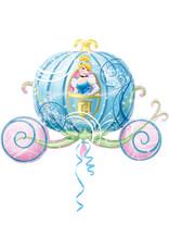 Amscan folieballon supershape assepoester koets