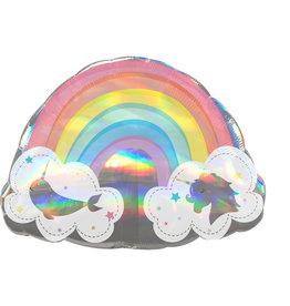 Amscan folieballon supershape magische regenboog