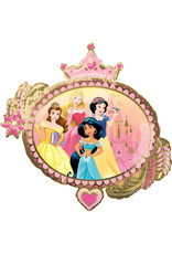 Amscan folieballon supershape Disney prinsessen