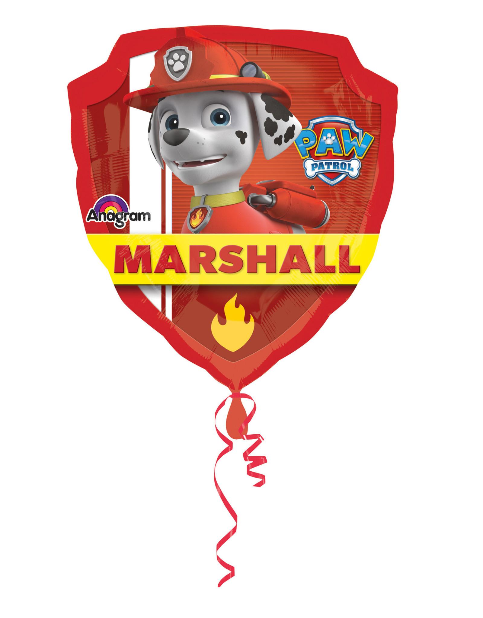 Amscan folieballon supershape Paw patrol badge 63 x 68 cm