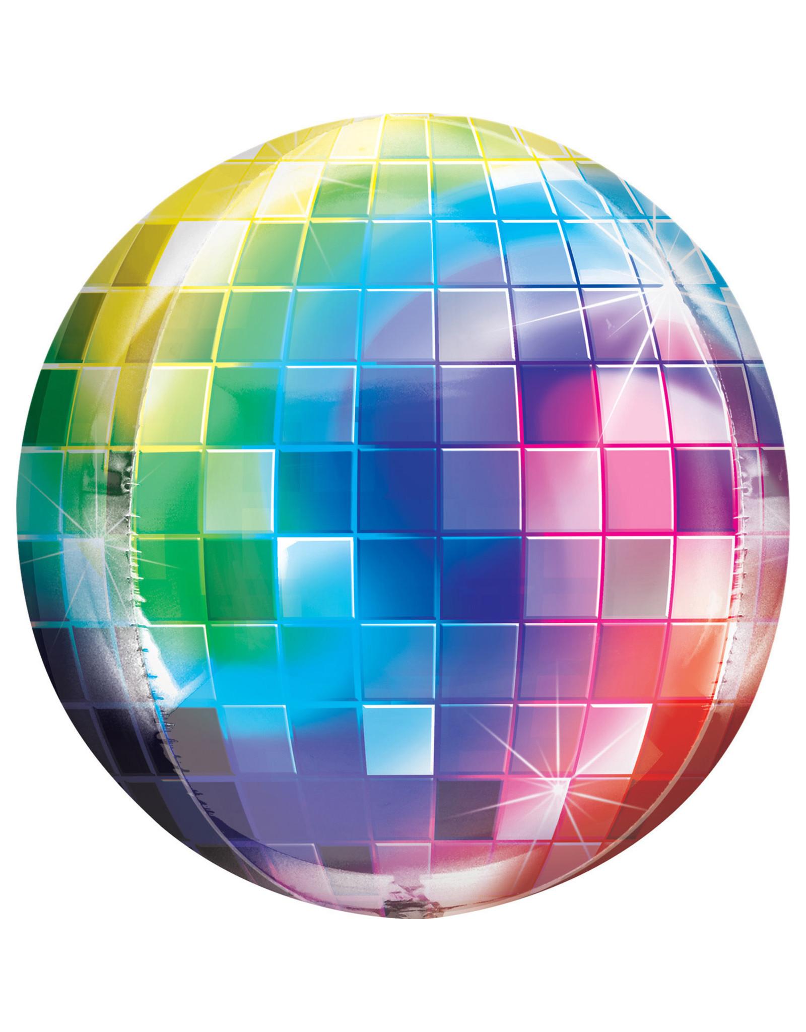 Amscan folieballon orbz disco 38 x 40 cm