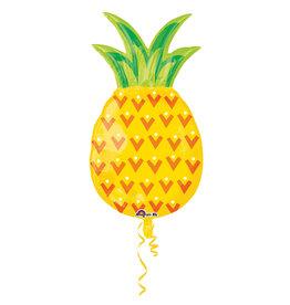 Amscan folieballon supershape ananas 78 x 43 cm
