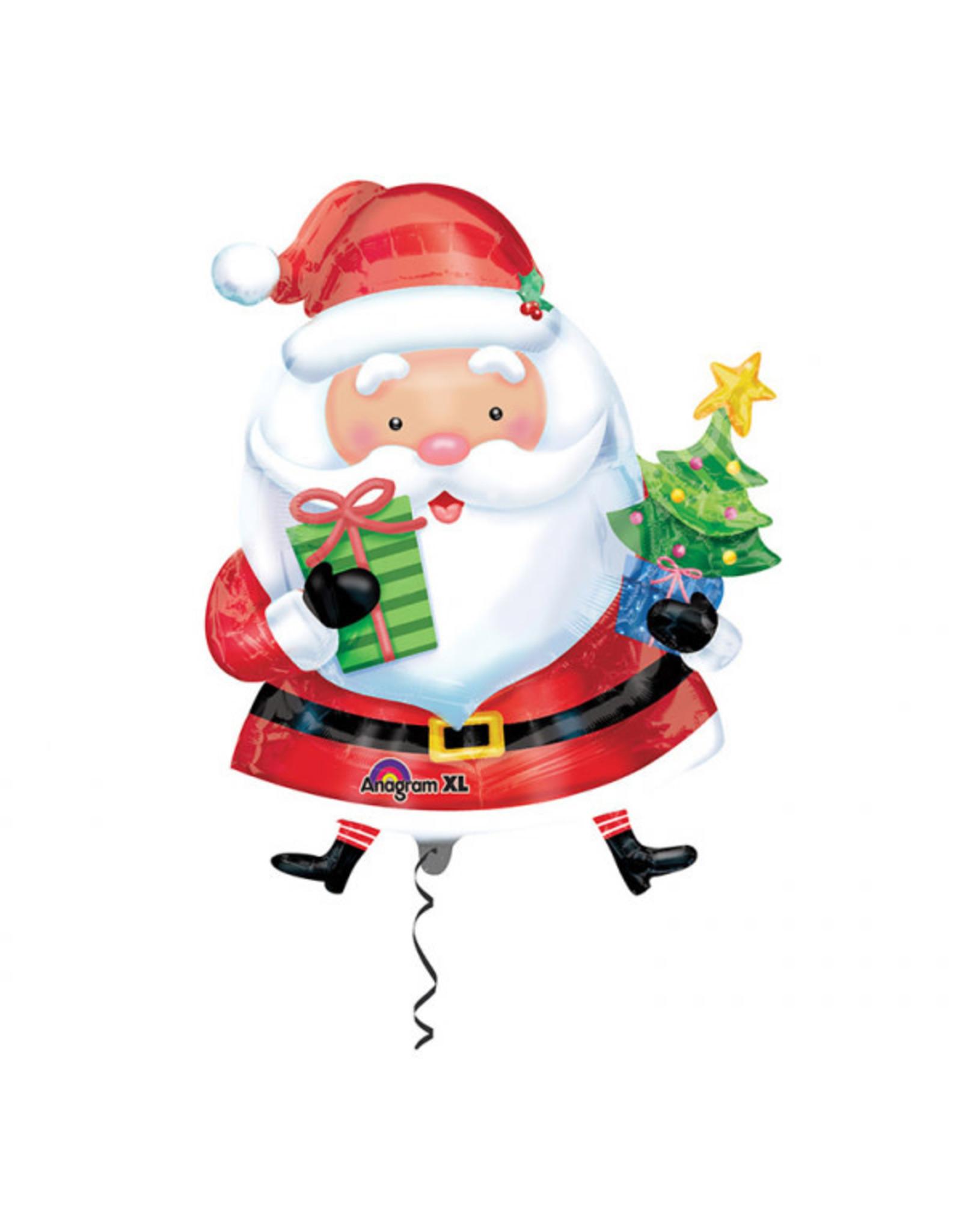 Amscan folieballon kerstman supershape