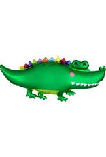 Amscan folieballon krokodil 106 x 48 cm