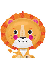 Amscan folieballon supershape leeuw