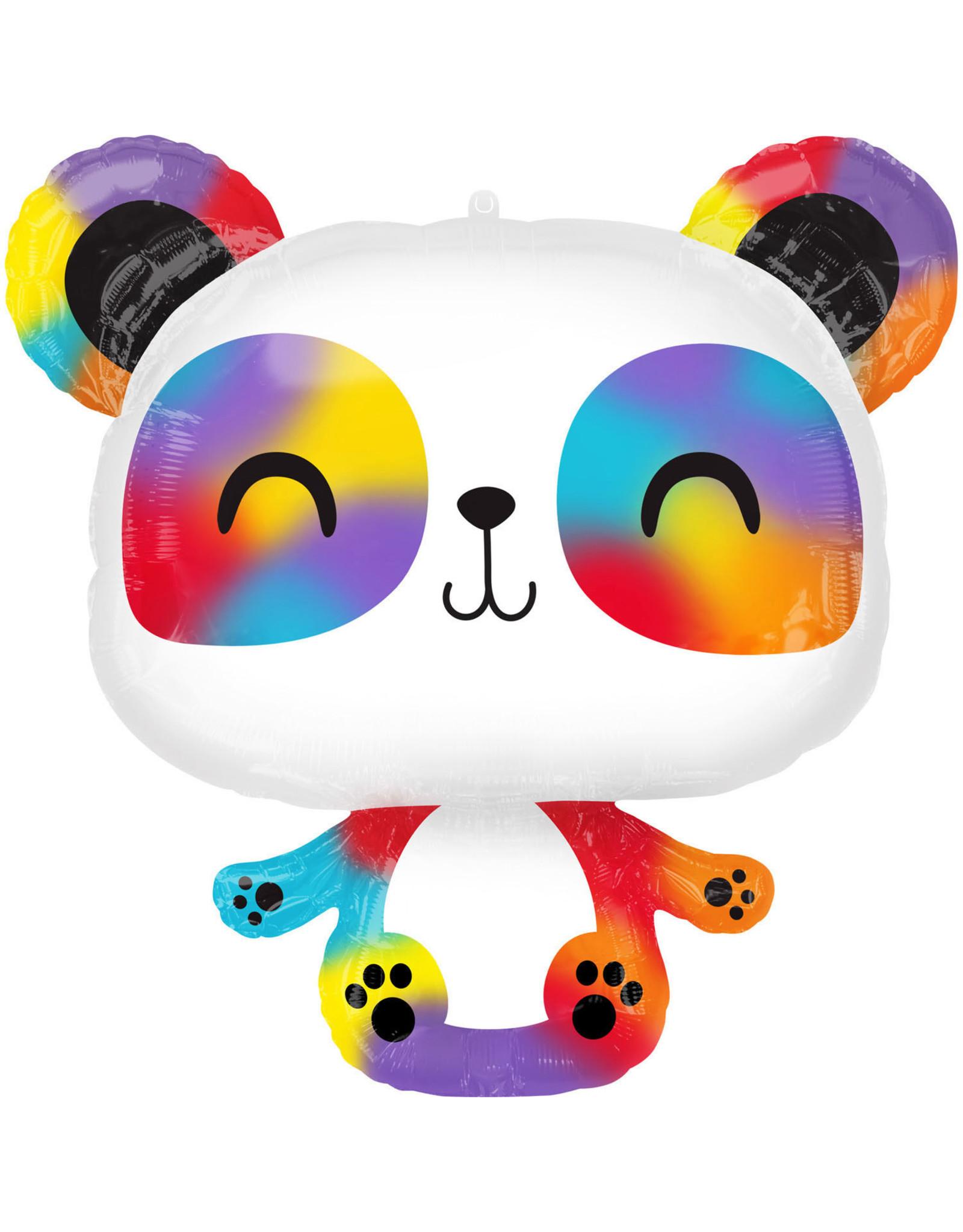 Amscan folieballon supershape panda multicolour