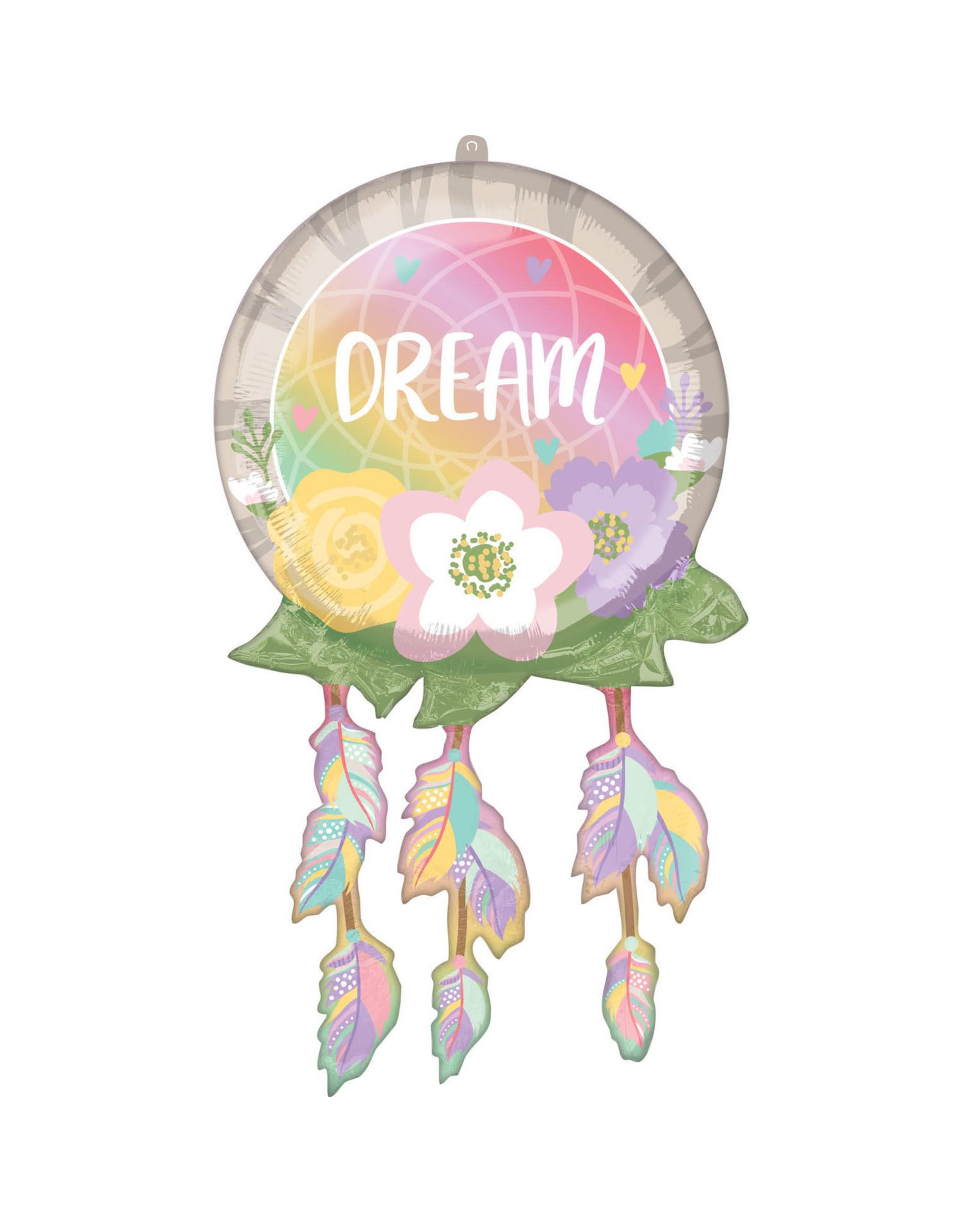 Amscan folieballon supershape dromenvanger 43 x 73 cm