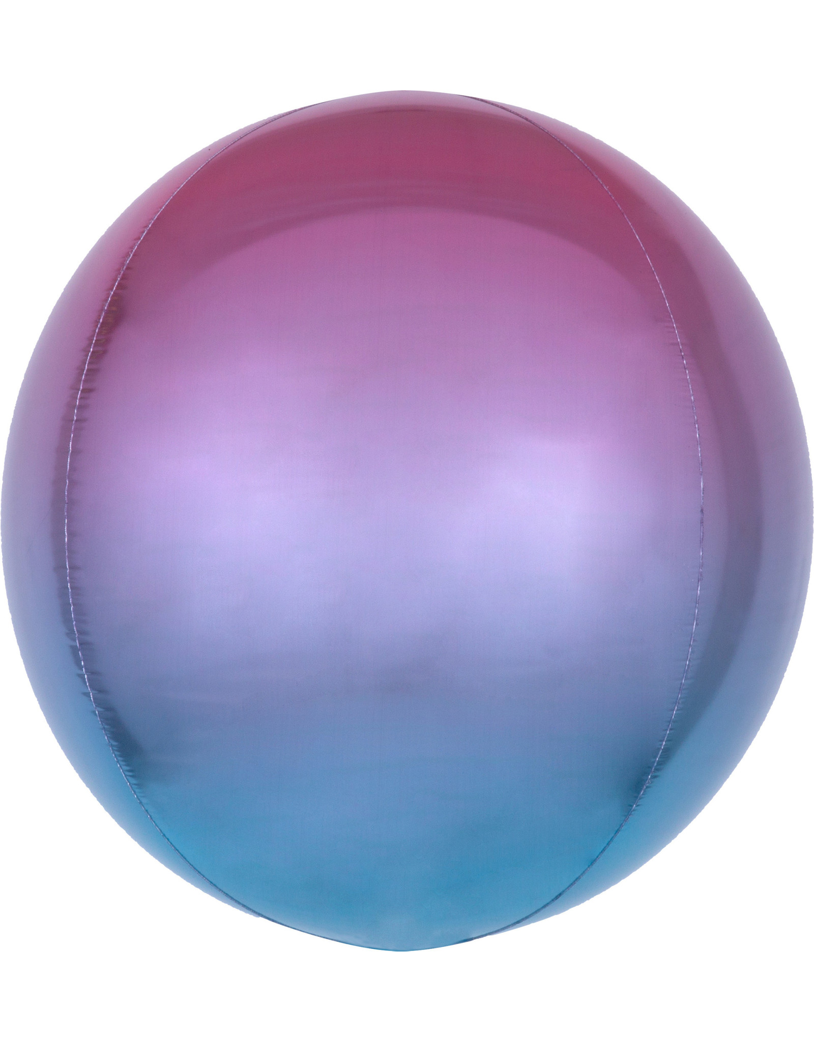 Amscan folieballon orbz blauw paars roze 38 x 38 cm