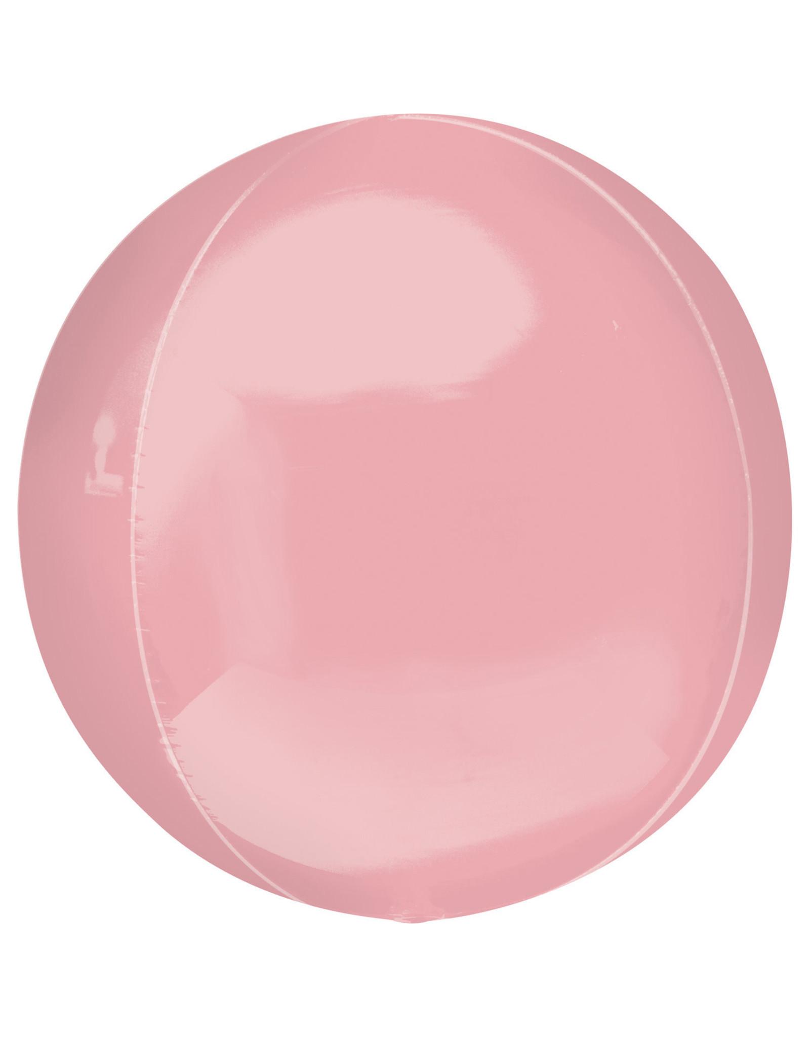 Amscan folieballon orbz pastel pink