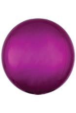 Amscan folieballon orbz fuchsia metallic