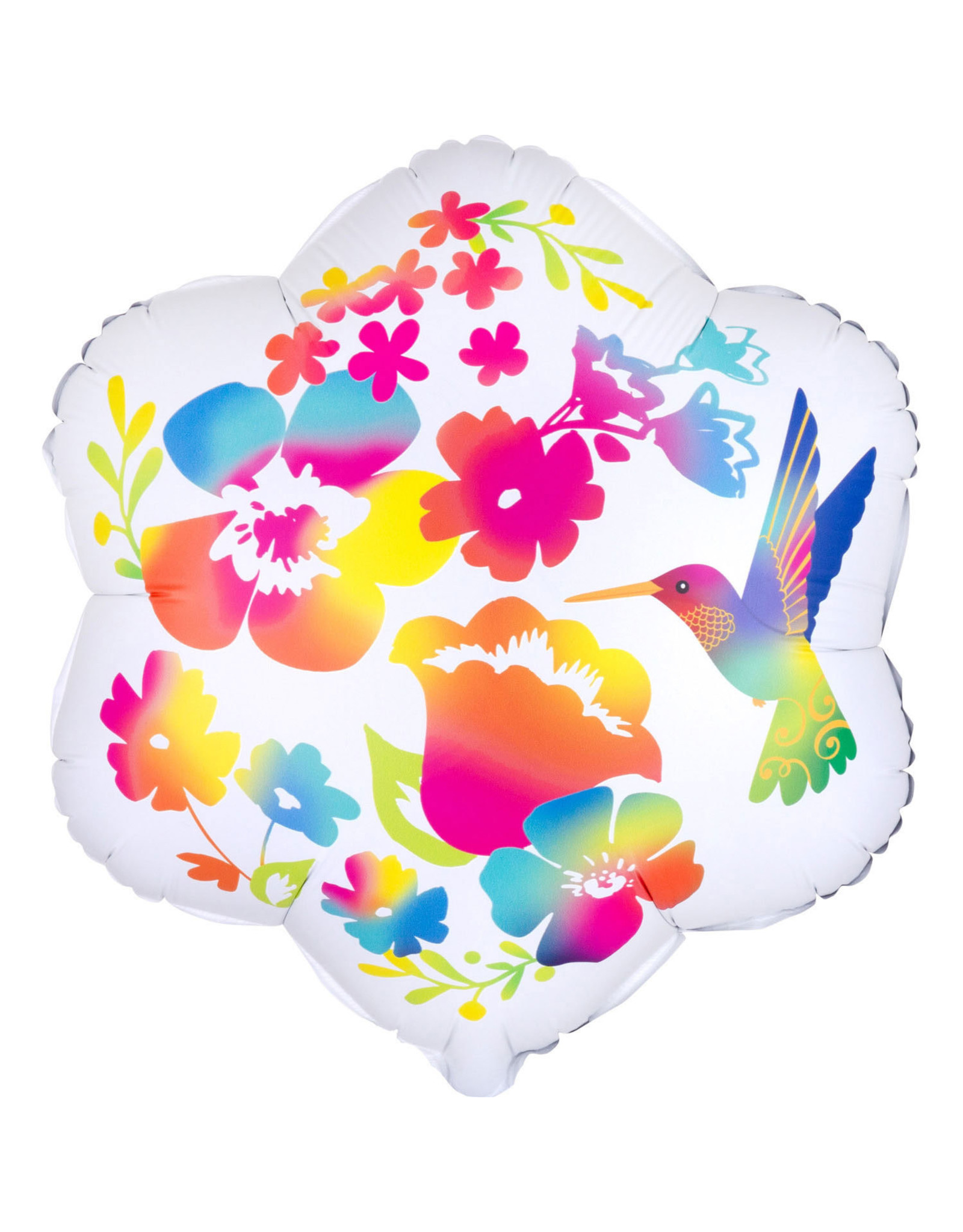 Amscan folieballon junior shape bloemen