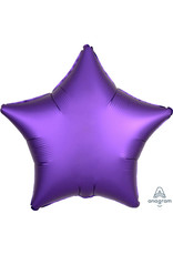 Amscan folieballon paars ster 48 cm